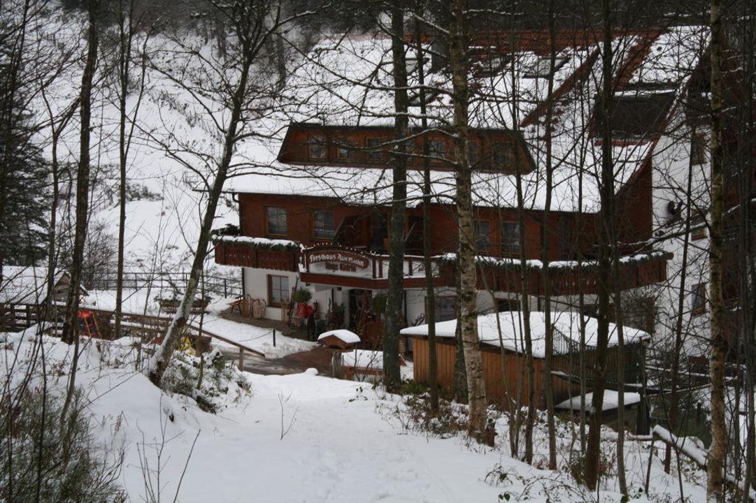 Außenansicht Wellnesshotel Forsthaus Auerhahn