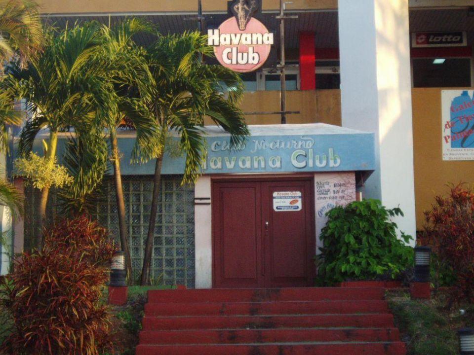"Hotel Disco ""Havana Club"" Hotel Palma Real"