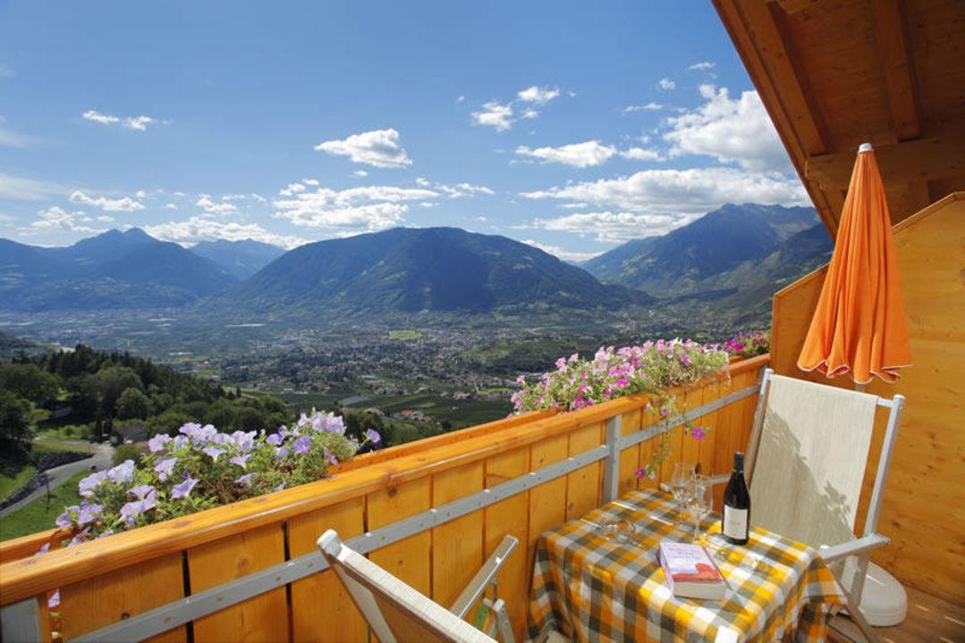 Ausblick vom Balkon Gasthof Rastlhof