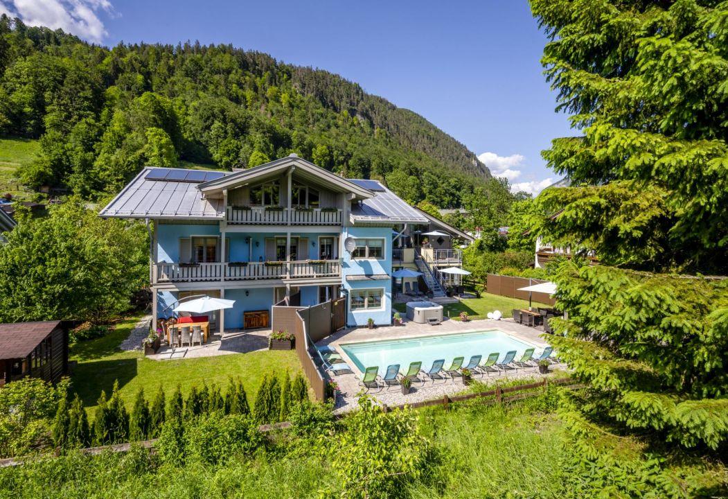 Pool Apartments Ferienparadies Alpenglühn