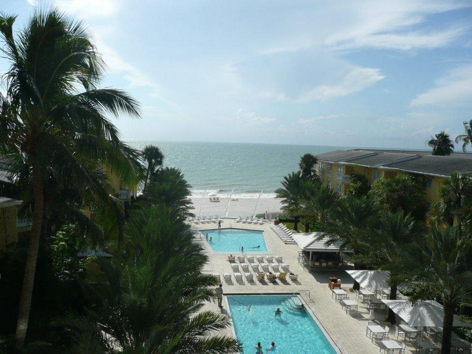 Ausblick vom Zimmer Hotel Edgewater Beach