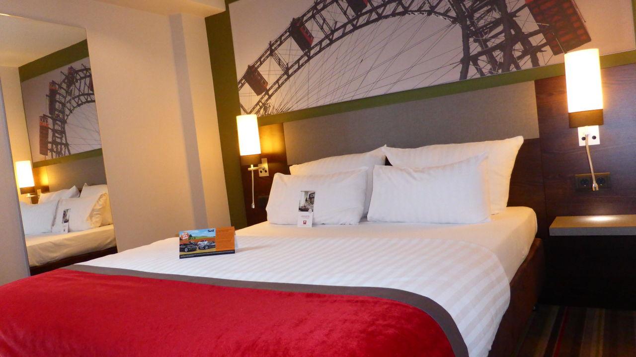 """king size bett"""" leonardo hotel vienna in wien • holidaycheck, Hause deko"""