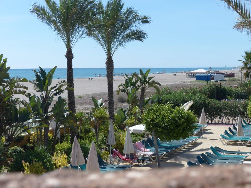 Blick zum Strand Zimbali Playa Spa Hotel