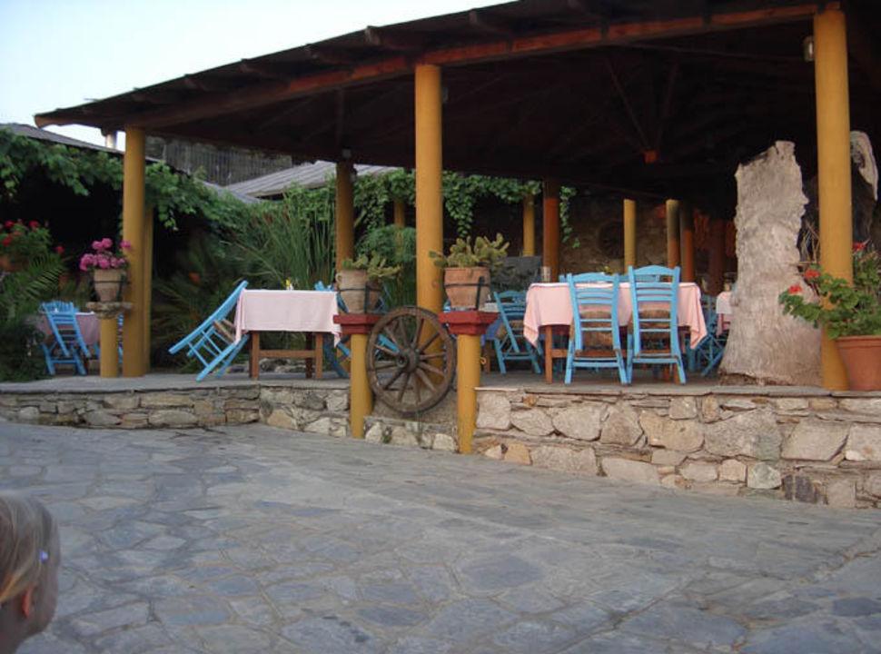 Geranion Village- hauseigene Taverne Hotel Geranion Village