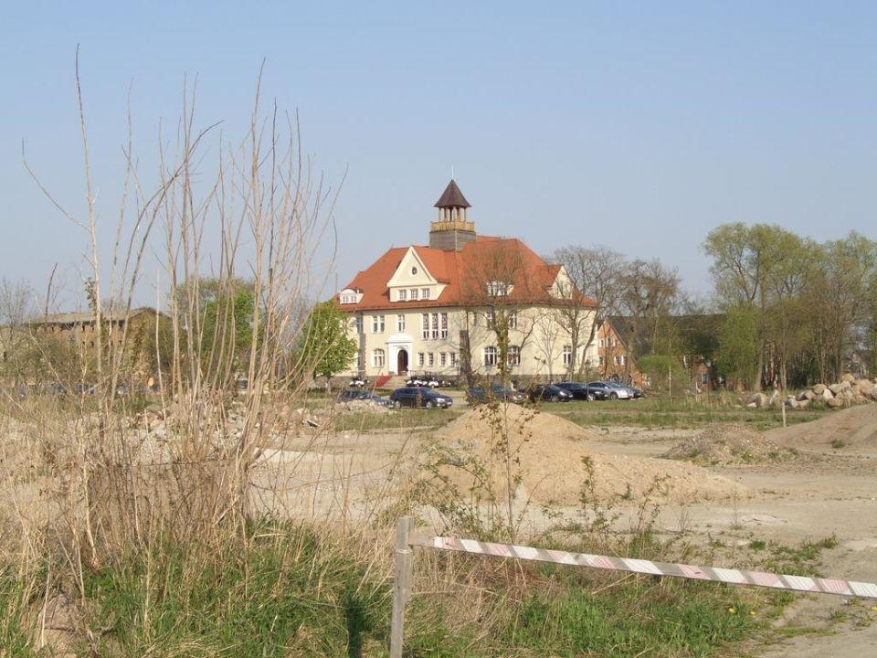 Blick auf das Schloss Schloss Krugsdorf Hotel & Golf
