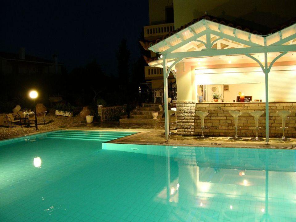 An der Poolbar Hotel Matina