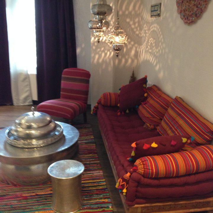 """wohnzimmer orientalische suite"""" hotel viii in regensburg, Wohnzimmer"""