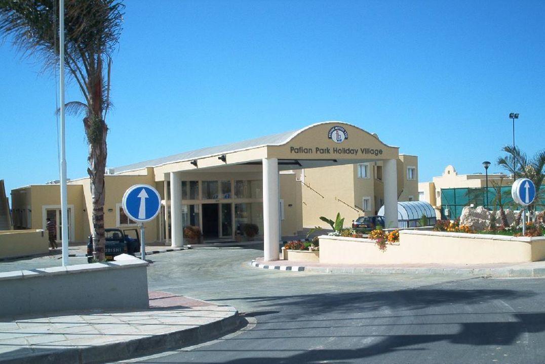Eingang Hotel Pafian Park Holiday Village  (Vorgänger-Hotel – existiert nicht mehr)