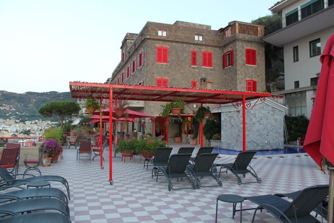 Taras hotelowy Hotel Minerva