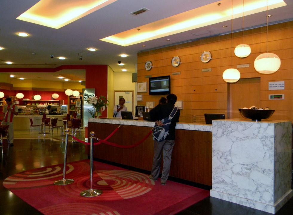 Lobby Arabian Park Hotel