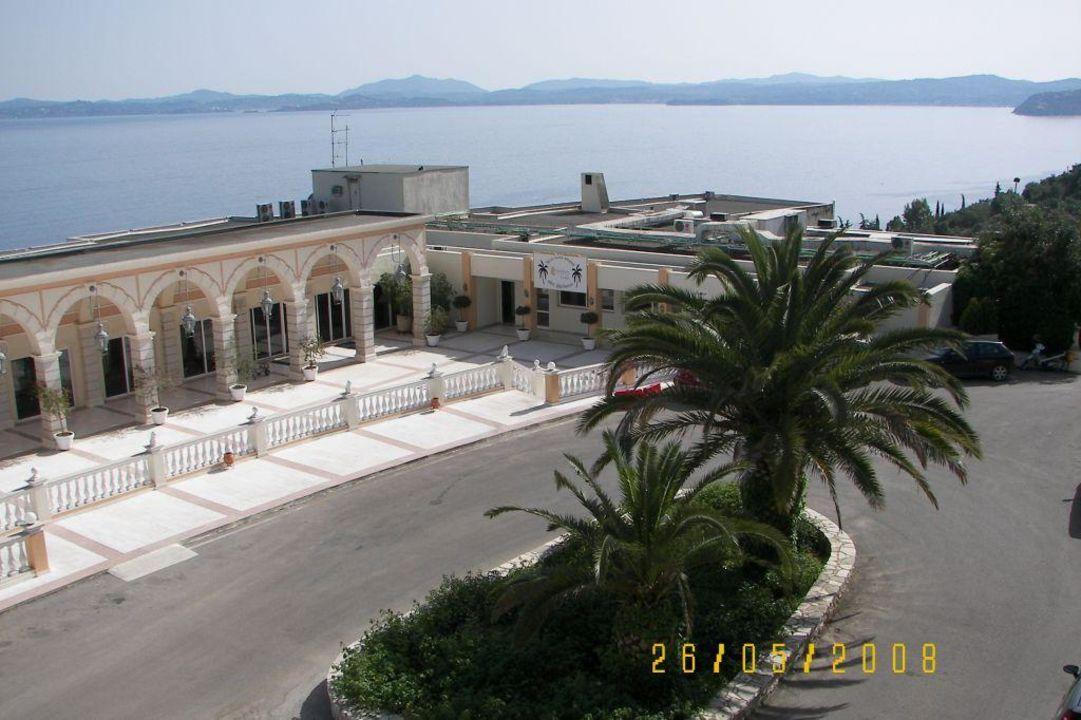 Hoteleingang Sunshine Corfu Hotel & Spa