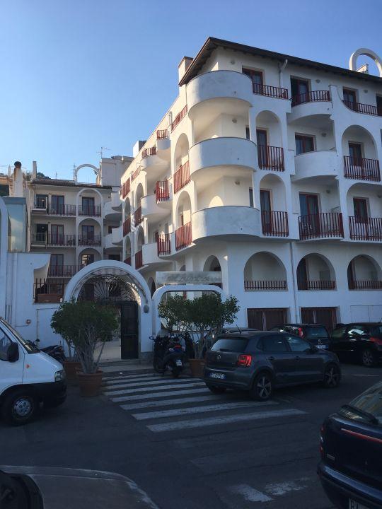 Außenansicht Hotel Albatros Letojanni