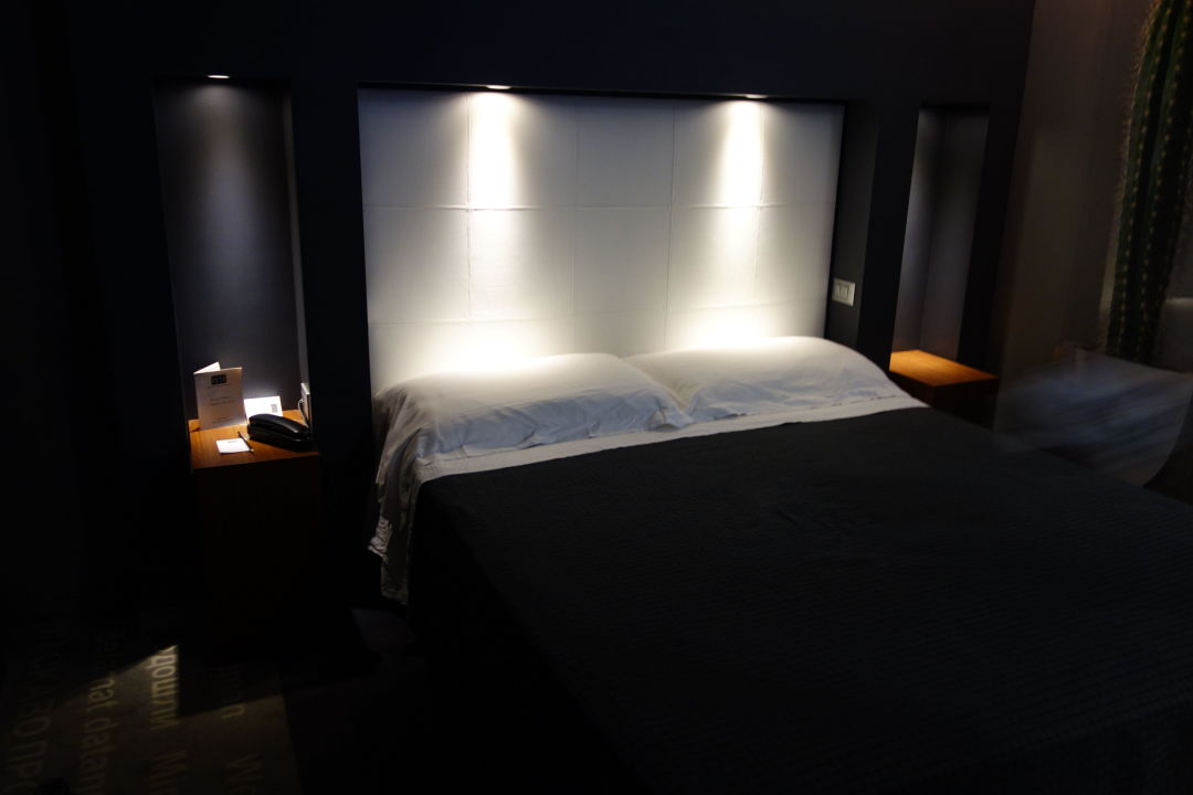 Schlafbereich Hotel Metropolis