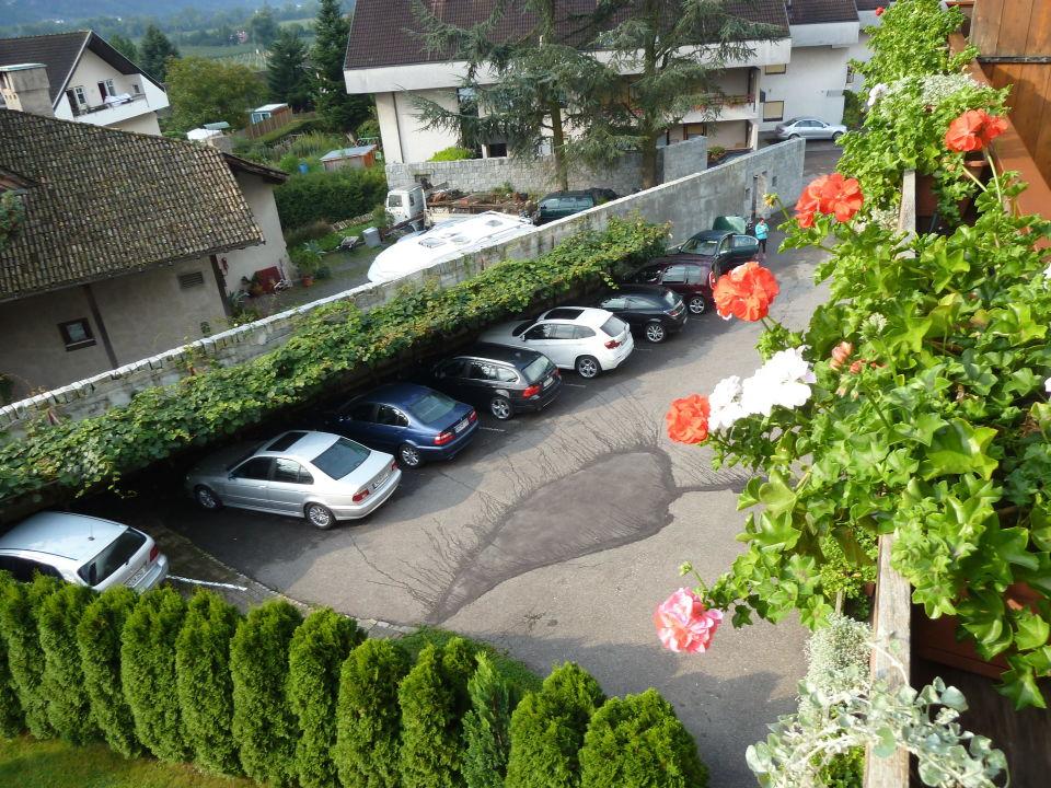 Parkplätze Garni-Hotel Wiesenhof