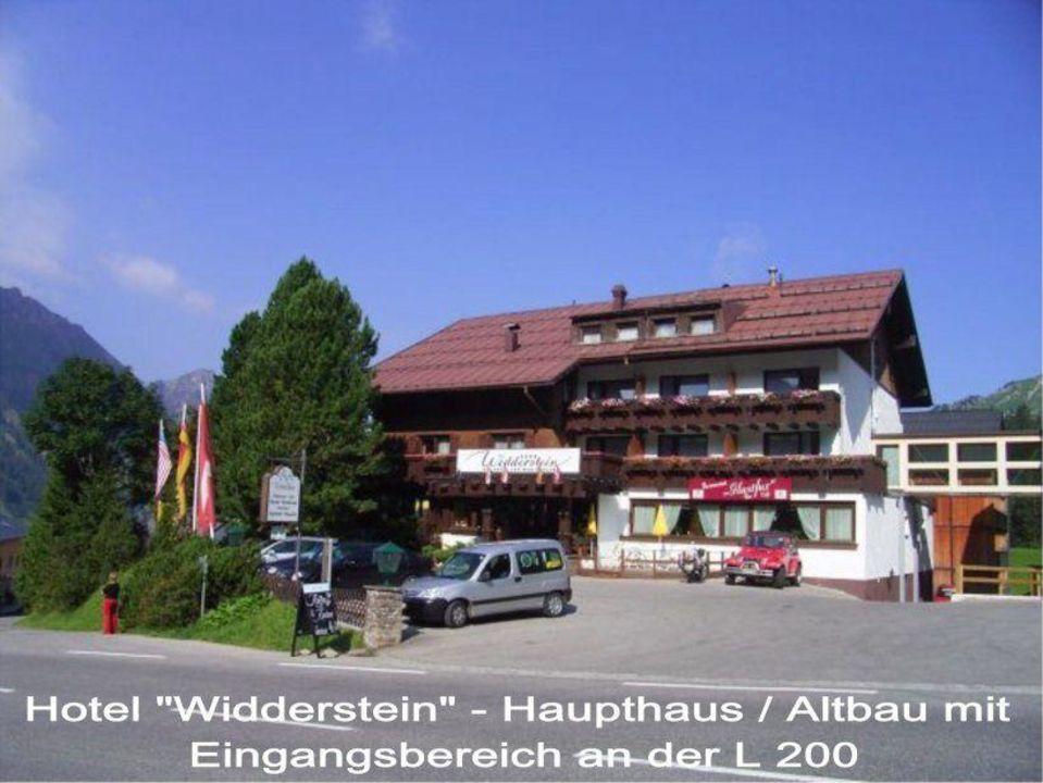 Eingangsbereich des Hotel  Widdersetin Hotel Widderstein