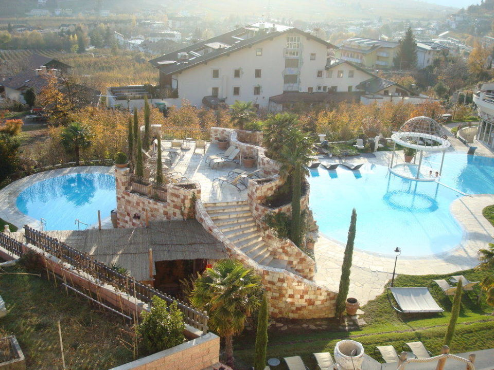 Balkonausblick Luxury DolceVita Resort Preidlhof