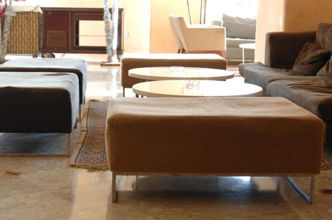 Sitzmöbel in der Hotelhalle Hotel Fiesta Beach Djerba