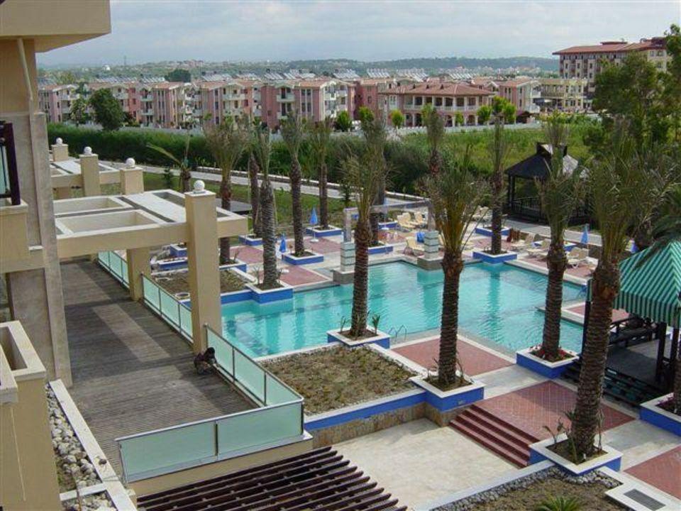Xanthe Resort - Blick vom Balkon lti Xanthe Resort & Spa