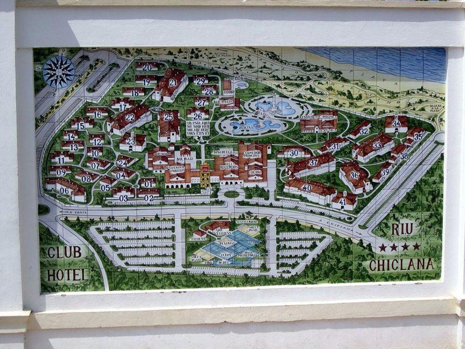 Quot Lageplan Der Wohneinheiten Quot Hotel Riu Chiclana Novo