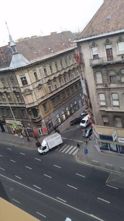 Ausblick Hotel Hungaria City Center