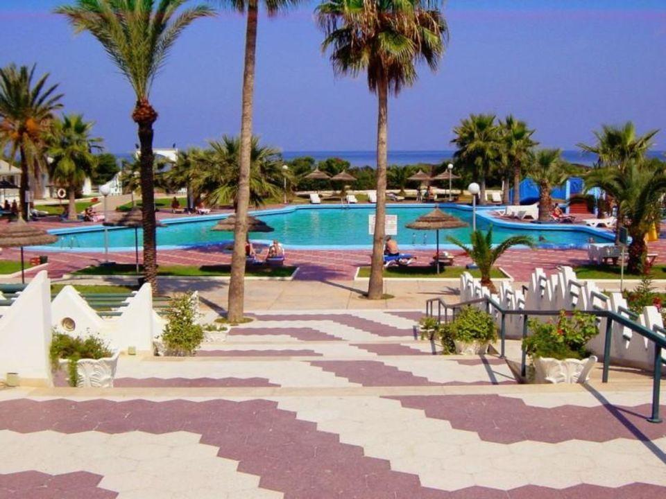 Hotel Skanes EL Hanna Tunesien  Pool Hotel Skanes El Hana