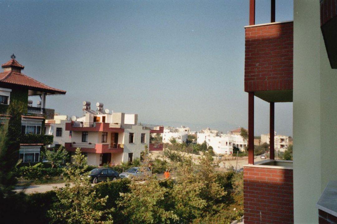 Blick vom Balkon Hotel Side Serenis