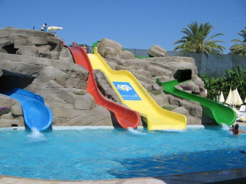 Wasserrutschen Melas Resort/Melas Holiday Village Hotel Melas Resort