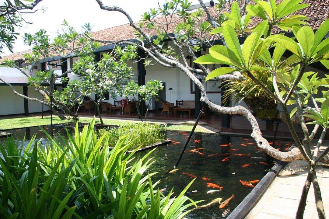 Widok z recepcji Avani Bentota Resort