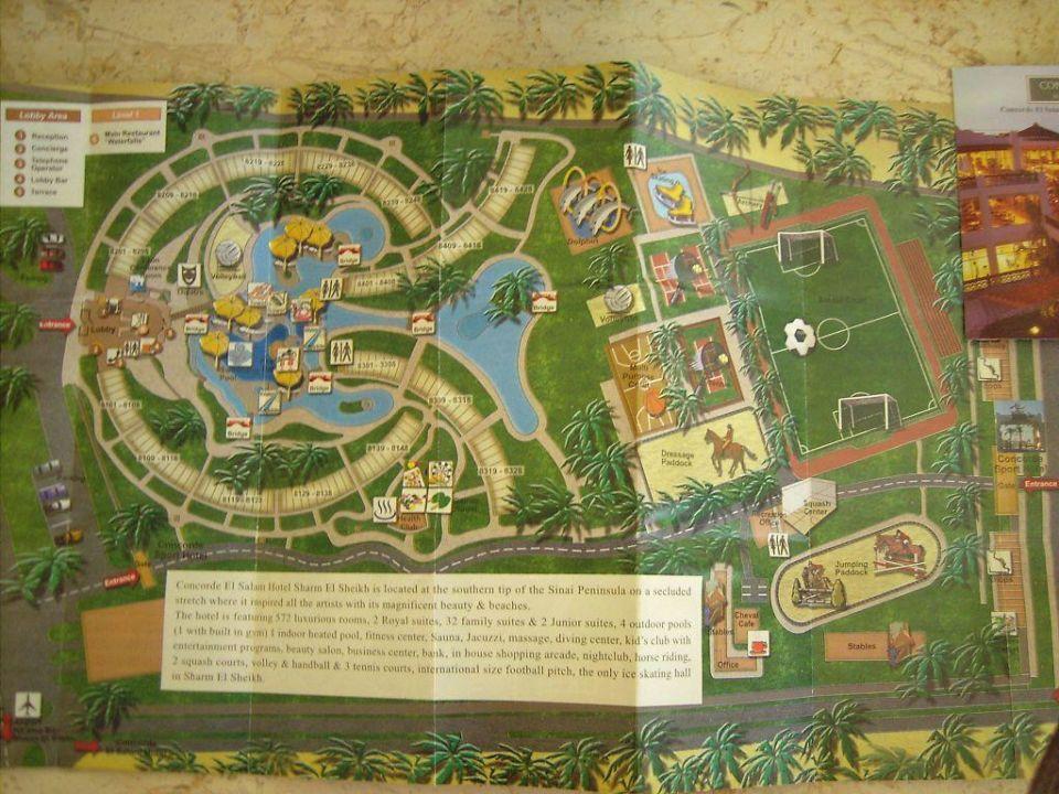 Plan Hotel Concorde El Salam SSH Concorde El Salam Hotel Sharm el Sheikh