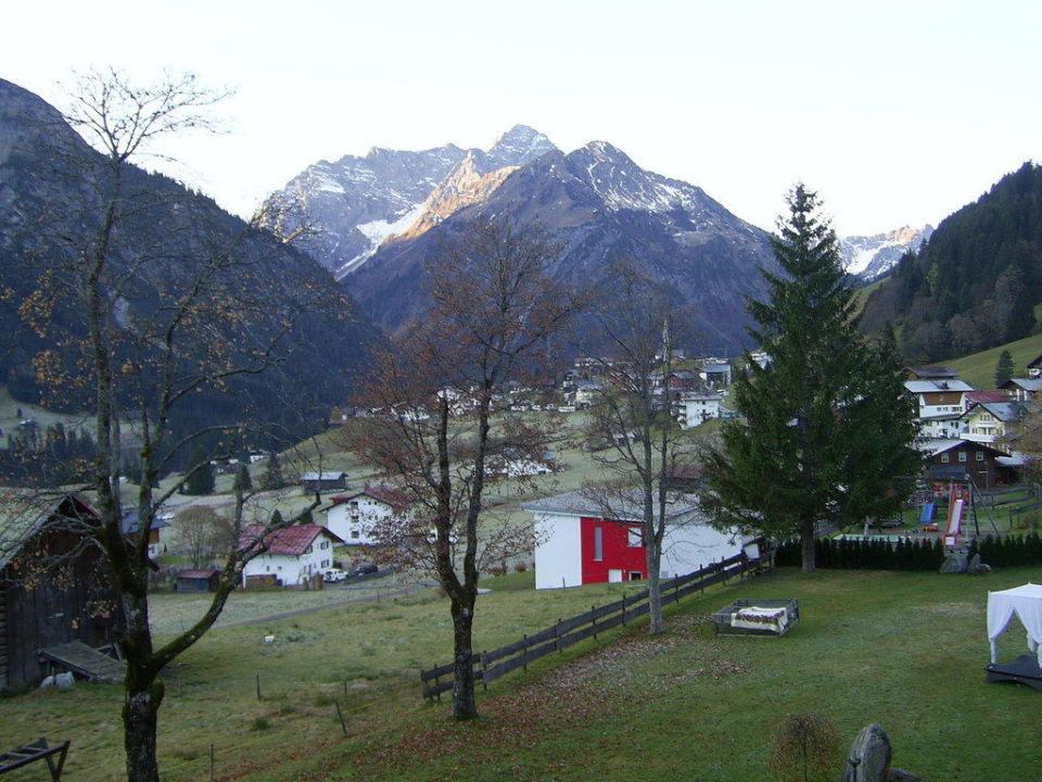 Schone Aussicht Haller S Genuss Spa Mittelberg Vorarlberg