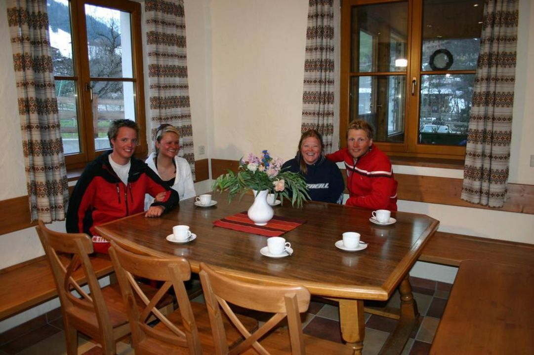 Frühstücksraum Gästehaus Hummerau