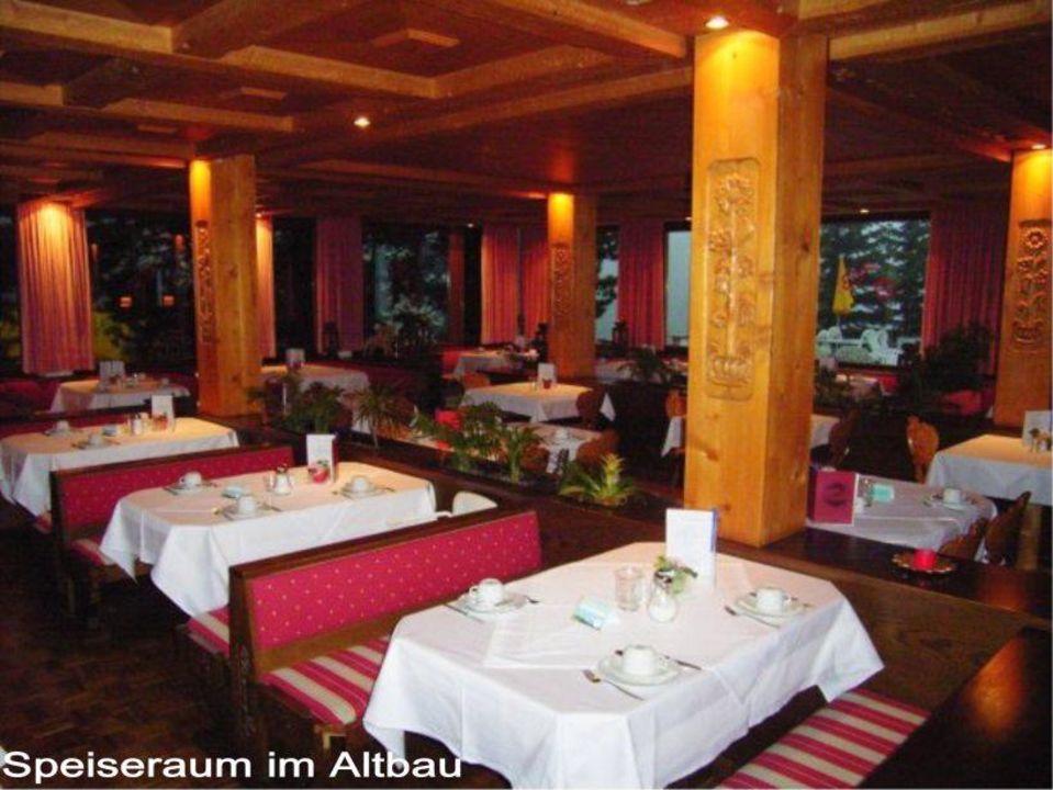 Speiseraum im Altbau Hotel Widderstein