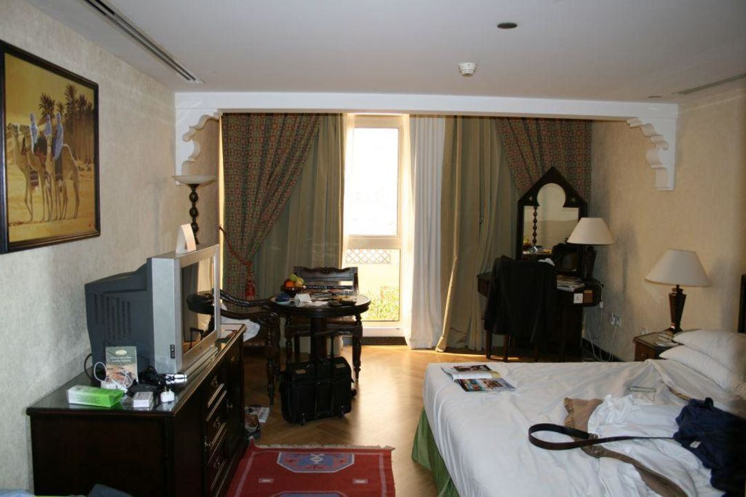 Zimmer mit Ausrichtung nach Hinten Arabian Courtyard Hotel & Spa