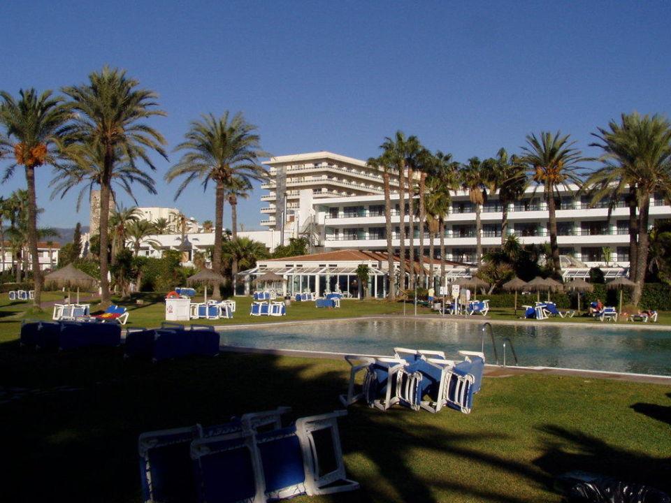 Teil der Außenanlage Sol Marbella Estepona - Atalaya Park by Melia