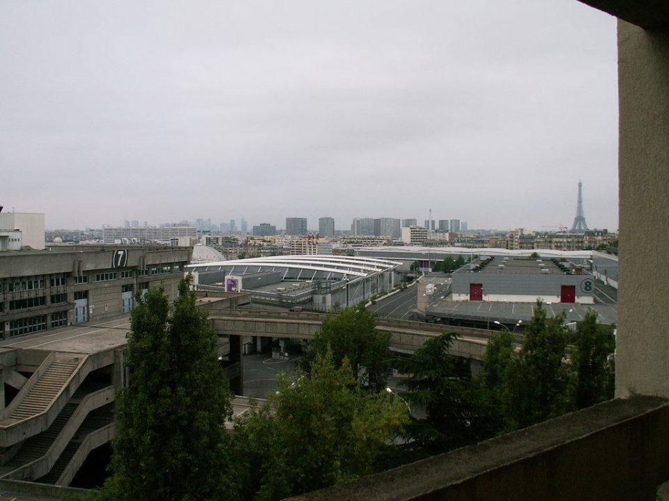 Ausblick aus dem Zimmer Hotel Mercure Paris Porte De Versailles Expo