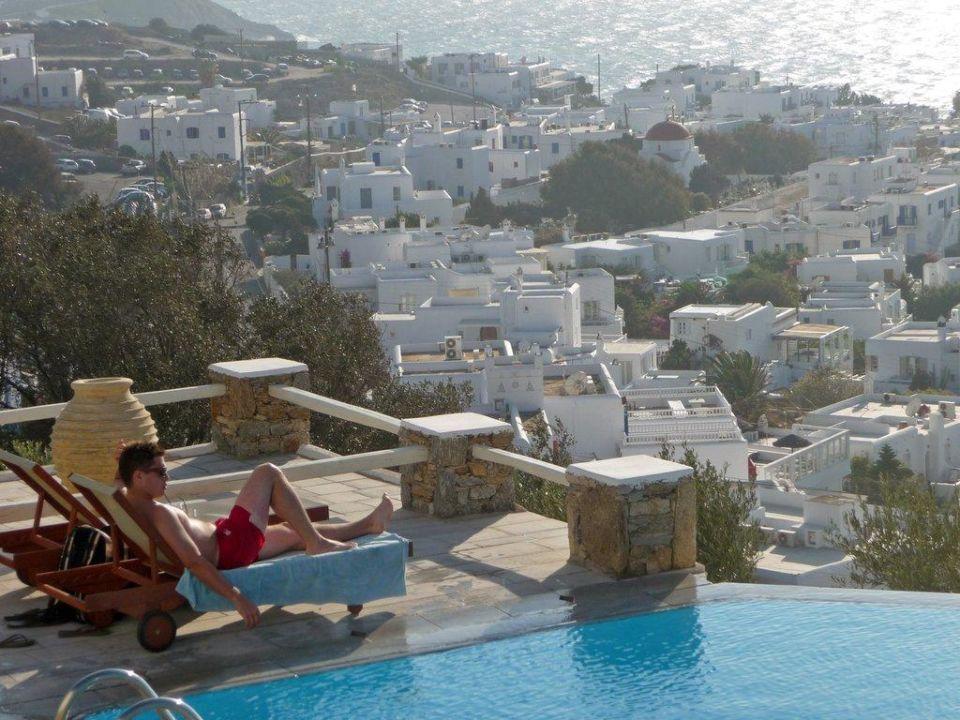 Toller Ausblick auf die Stadt Hotel Vencia