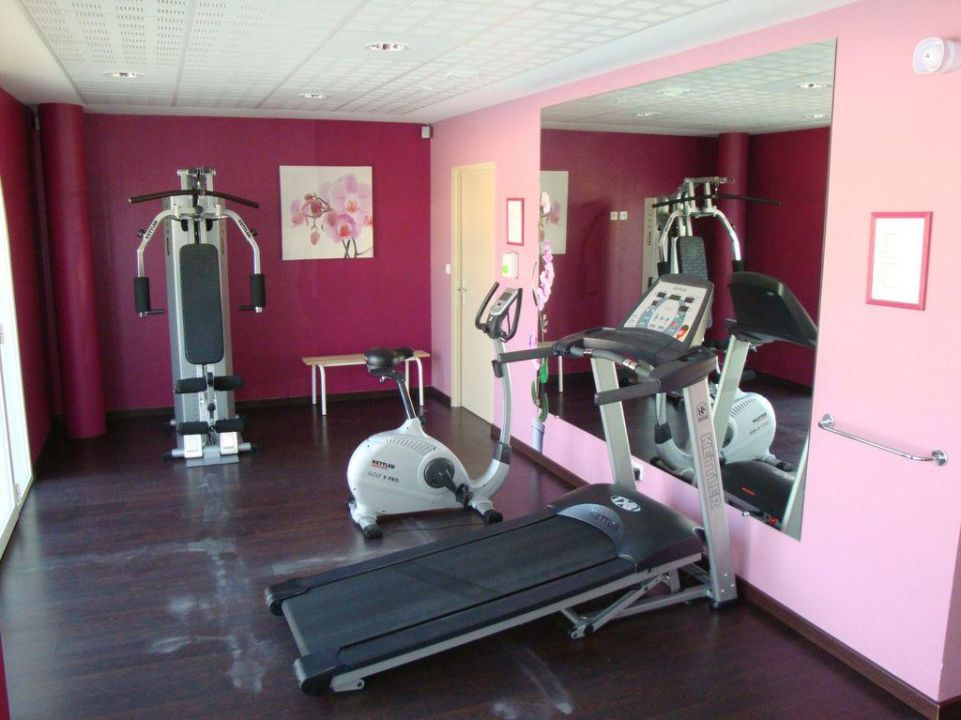 Fitnessraum Hotel My Suitevillage Colomiers