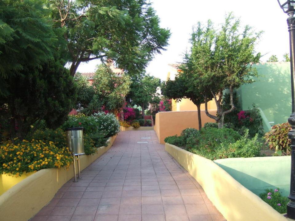 Weg Zu Den Bungalows Hotel Marbella Playa Marbella
