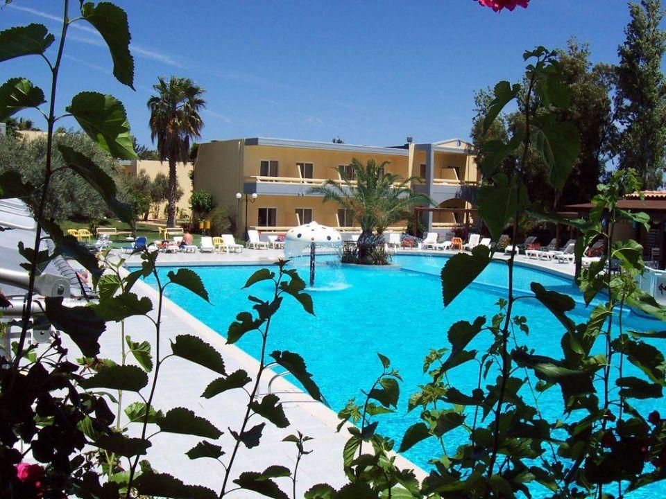 Blick zum Pool Hotel Golden Odyssey