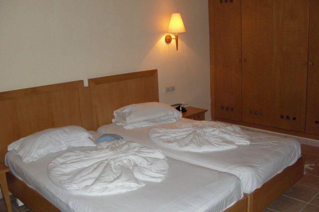 Schlafzimmer der Suite 1225 Aldiana Club Djerba Atlantide