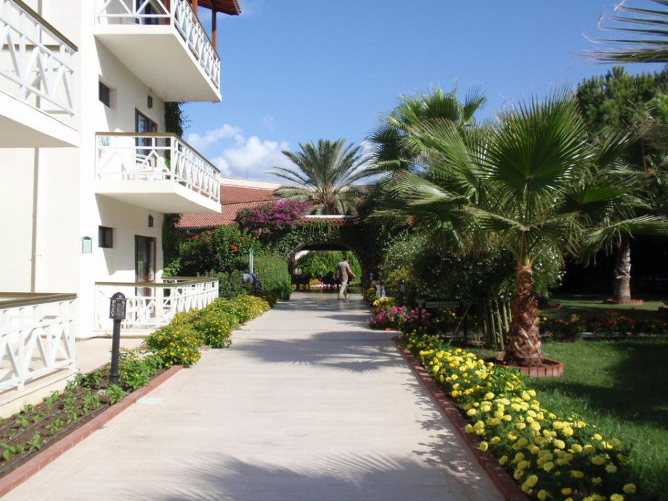 Weg zur Lobby Paloma Oceana Resort