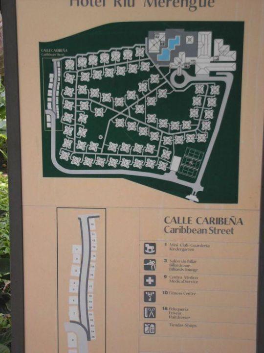 Plan vom Hotel Playa Bachata Resort