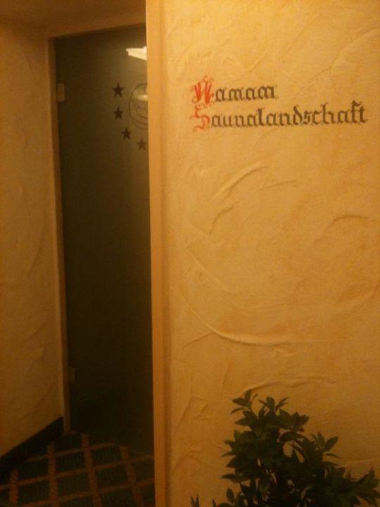 Sauna Eingang\