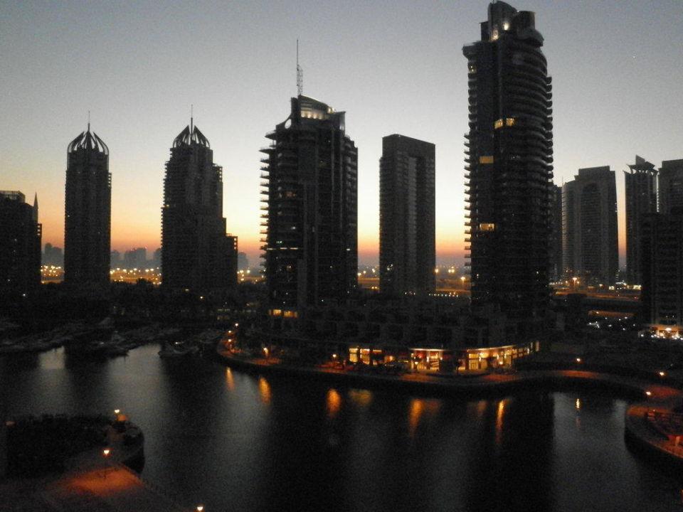 Ausblick auf den Hafen Hotel Dusit Residence Dubai Marina