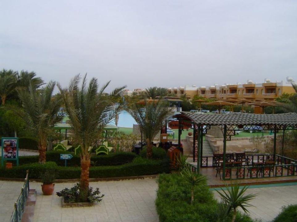 von oben Golden Beach Resort