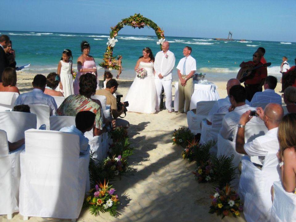 Hochzeitszeremonie Am Strand Luxury Bahia Principe Ambar Bavaro