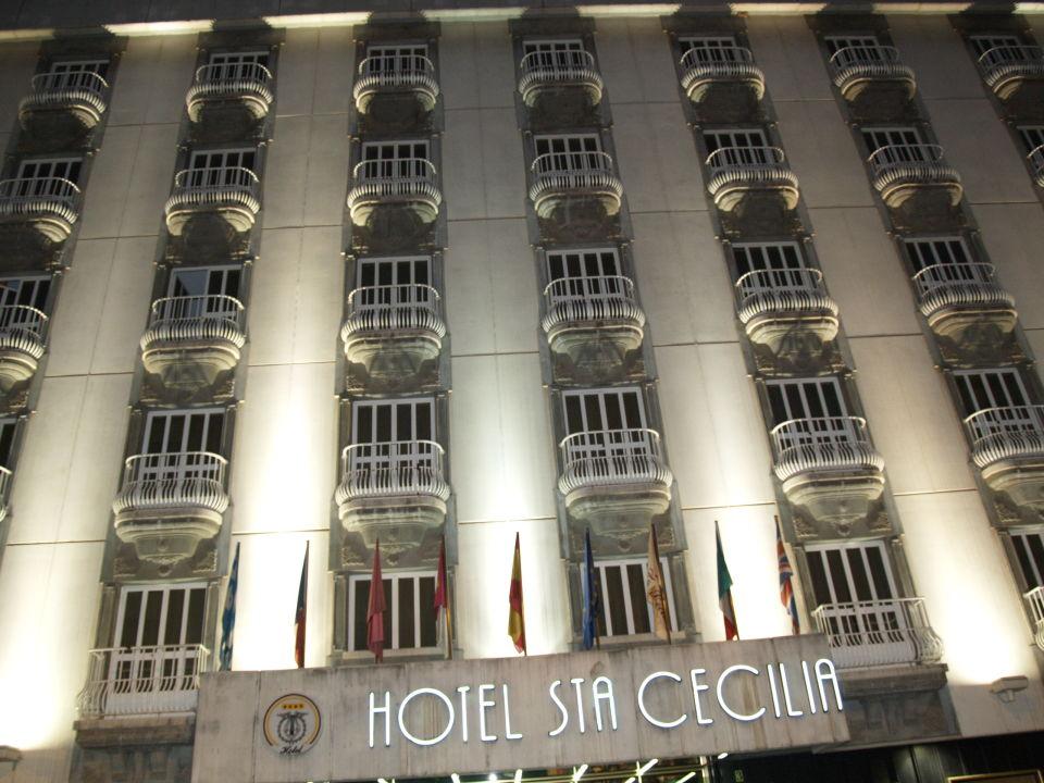 Außenansicht Hotel Santa Cecilia