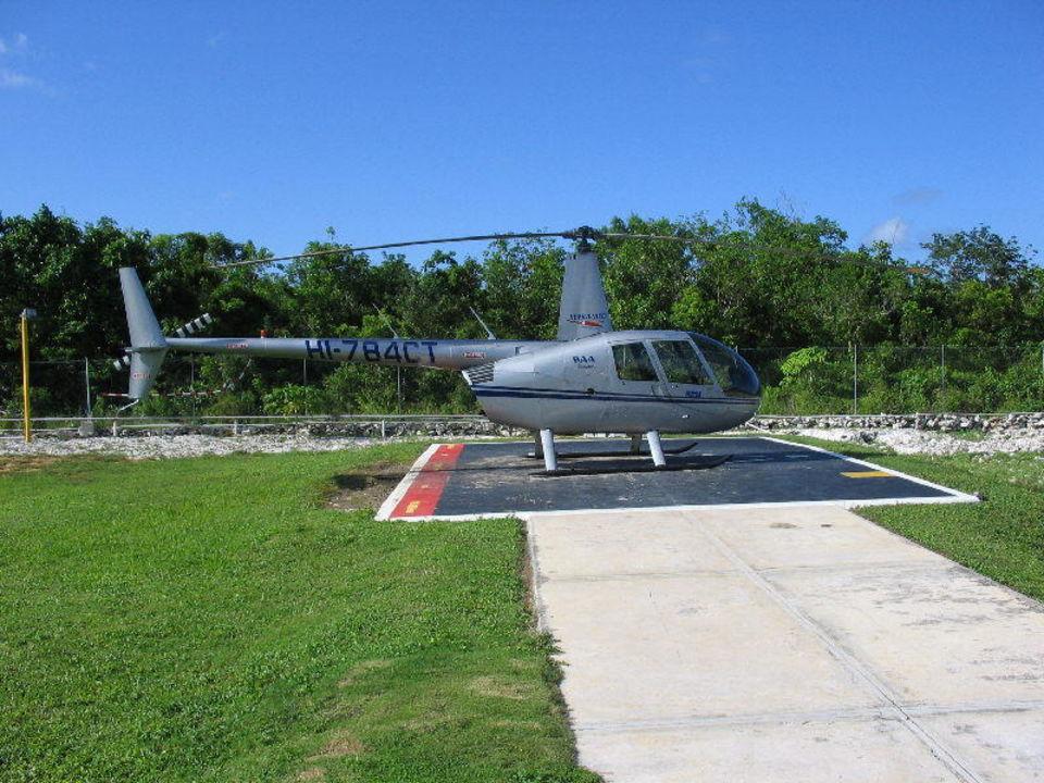 Helikopter Grand Palladium Bávaro Suites Resort & Spa