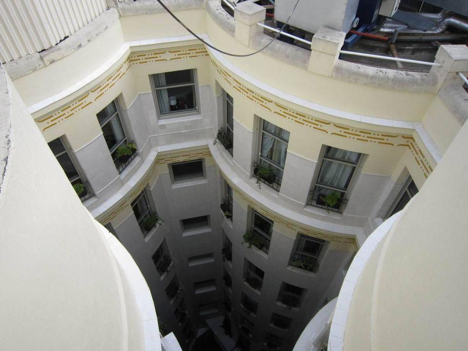 Small courtyard Hotel NH Collection Madrid Paseo del Prado