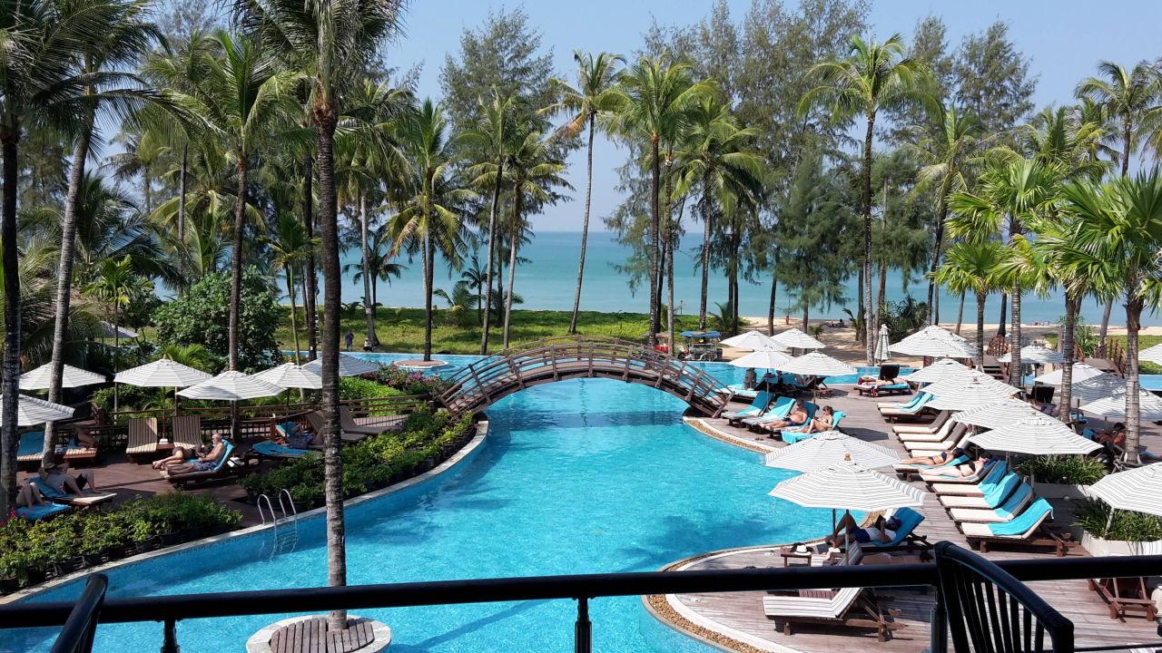 grosser pool hotel the haven khao lak khuk khak beach holidaycheck khao lak phang nga. Black Bedroom Furniture Sets. Home Design Ideas